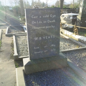 Yeats Grave Feb 2015